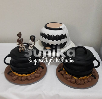 Xhosa Traditional Wedding Cakes