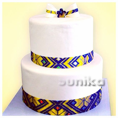 Shweshwe Traditional Wedding Cakes