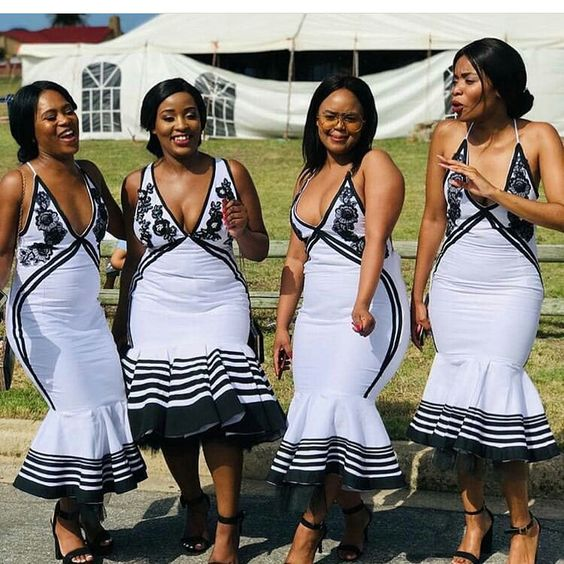 xhosa bridesmaids dresses