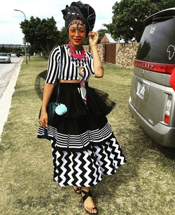 Xhosa Dress With Tulle